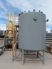 Mueller 2500 Gallon Insulated Vessel Reactor Cs Asme Mawp 30 Psi 600f