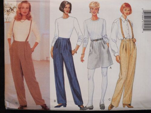 OOP BUTTERICK 4101 Pants Shorts /& Suspenders PATTERN 6-8-10//12-14-16//18-20-22 UC