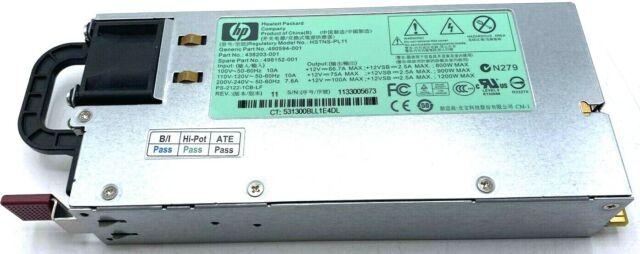 HP 1200W Power Supply Server 490594-001 438203-001 HSTNS-PL11 - w/ WARRANTY!