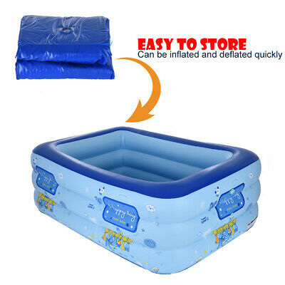 Giant Inflatable Swimming Pool Adult Inflatable Pool For Summer Party  Family | eBay