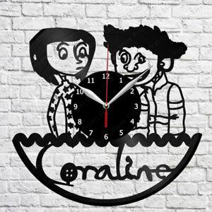 Coraline Vinyl Clock Record Wall Clock Decor Fan Art Home 3086 Ebay