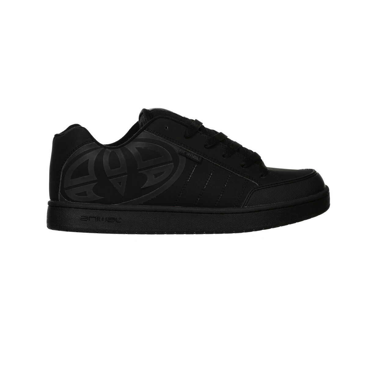ANIMAL  Herren TRAINERS.BOXED MITCH ALL BLACK PADDED SOLE SKATE Schuhe.RUBBER SOLE PADDED 8W 2 8ecfe3