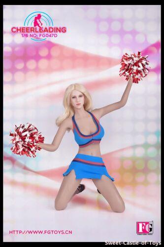 1//6 Fire Girl Toys Accessory FG047 Female Cheerleading Suit Uniform Set