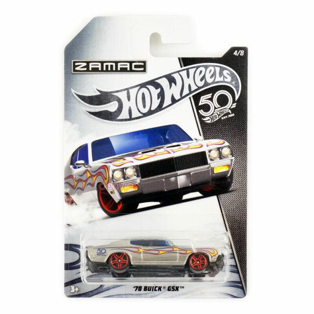 Hot Wheels 50th Anniversary Zamac '70 Buick GSX 4/8