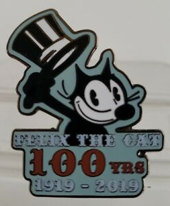 FELIX-THE-CAT-100-YEARS-ANNIVERSARY-1919-2019-COLLECTIBLE-LE-500-PIN-FREE-SHPG