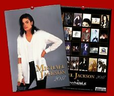 MICHAEL JACKSON - CALENDAR 2017 NEU & OVP kalender calendrier + 2 posters