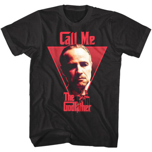 Godfather Call Me Don Corleone Men/'s T Shirt Marlon Brando Italian Mafia Movie