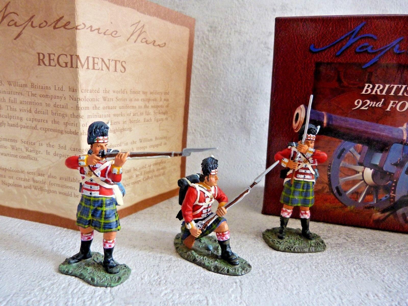 BRITTAINS 17297 Brittiska 92nd Foot - Guerres Napol 6553333;...te