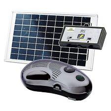 Heissner SP-1500 Hybrid-Solar-Teichpumpen Set SP1500 mit Wasserspiel