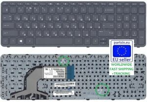 New for HP Pavilion  250 G2 255 G2 255 G3 256 G2 laptop keyboard black no frame