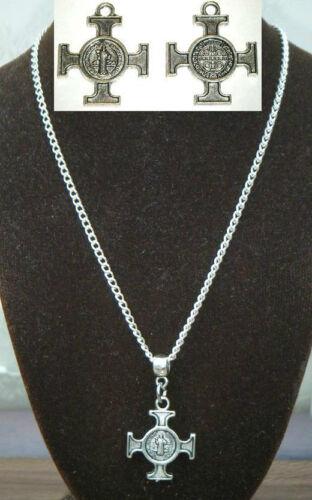 "18/"" or 24 Inch Chain Necklace /& Maltese Cross Religious Malta Amalfi Iron Cross"