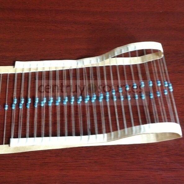 50pcs 1/8W 0.125W 1% Metal Film Resistor 10KΩ ohm