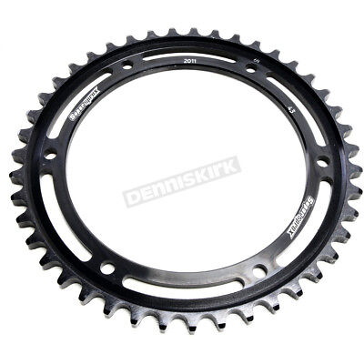 SuperSprox RFE-2011-43-BLK Rear Steel Sprocket