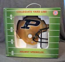 Collegiate Yard Line Purdue Boilermakers Football Helmet Yard Sprinkler NIB