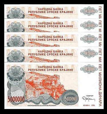 CROATIA  10 BILLION  DINARA  1993 Prefix A P  R28 Uncirculated
