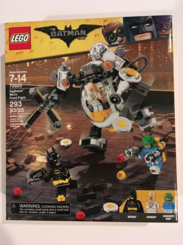 LEGO Batman Egghead Mech Food Fight 70920 BNIP