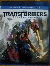 Transformers Dark of the Moon Bluray Plus DVD no Digital
