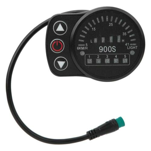 KT-900S Bicycle Electric LED Display Meter Control Panel For Bike Modification