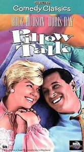 Pillow-Talk-VHS-Tape-1959-Rock-Hudson-Doris-Day