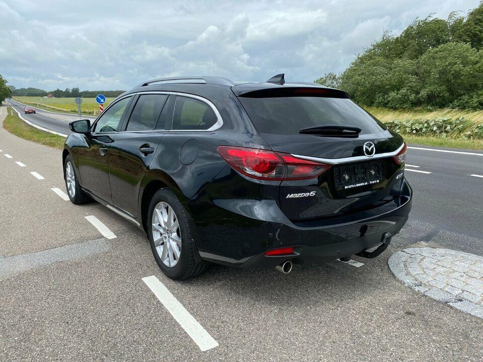 Mazda 6 2,0 Sky-G 165 Vision stc. Benzin modelår 2015 km
