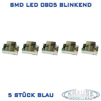S1037-10 Stück SMD LEDs 0805 rot mit Draht Kupferlackdraht fertig angelötet