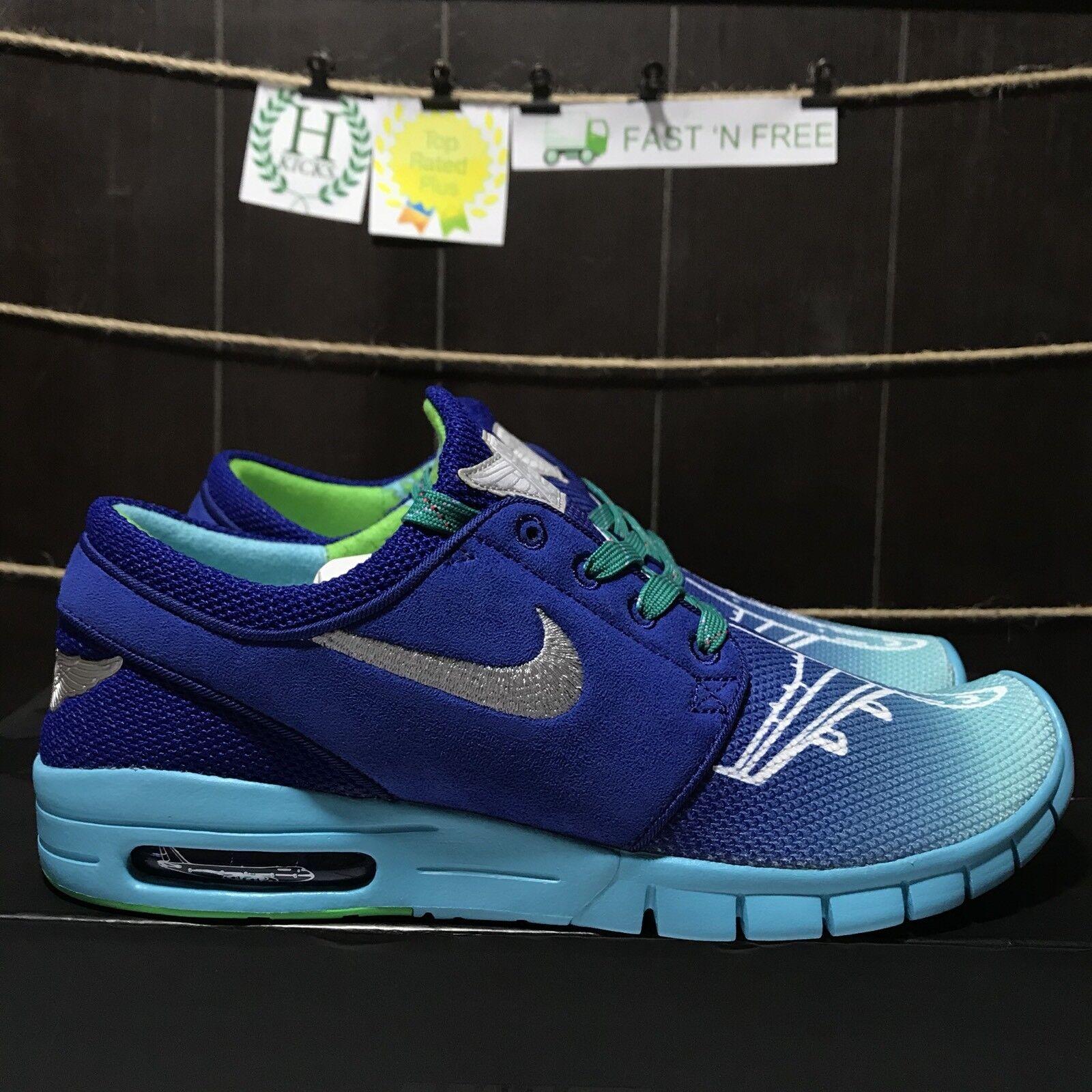 Nike Stefan Janoski Max Doernbecher Airplane Deep Royal Blue 898640 404 Size 12