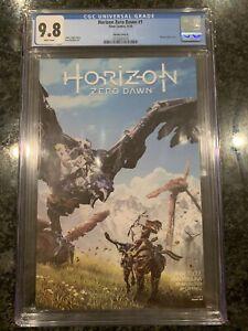 Horizon-Zero-Dawn-1-Cover-B-9-8-CGC-Fast-Shipping-Titan-Stan-Lau