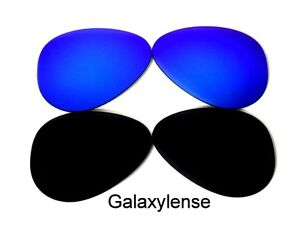 a77fab90d Galaxy Replacement Lenses For Ray Ban RB3025 Aviator Black&Blue 62mm ...
