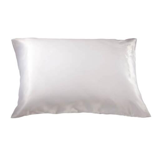 White King Satin Pillowcase Set of 2