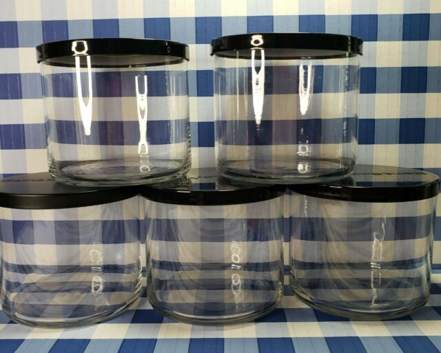 Bath And Body Works Lot Of 5 Empty 3- Wick Candle Jars And ...