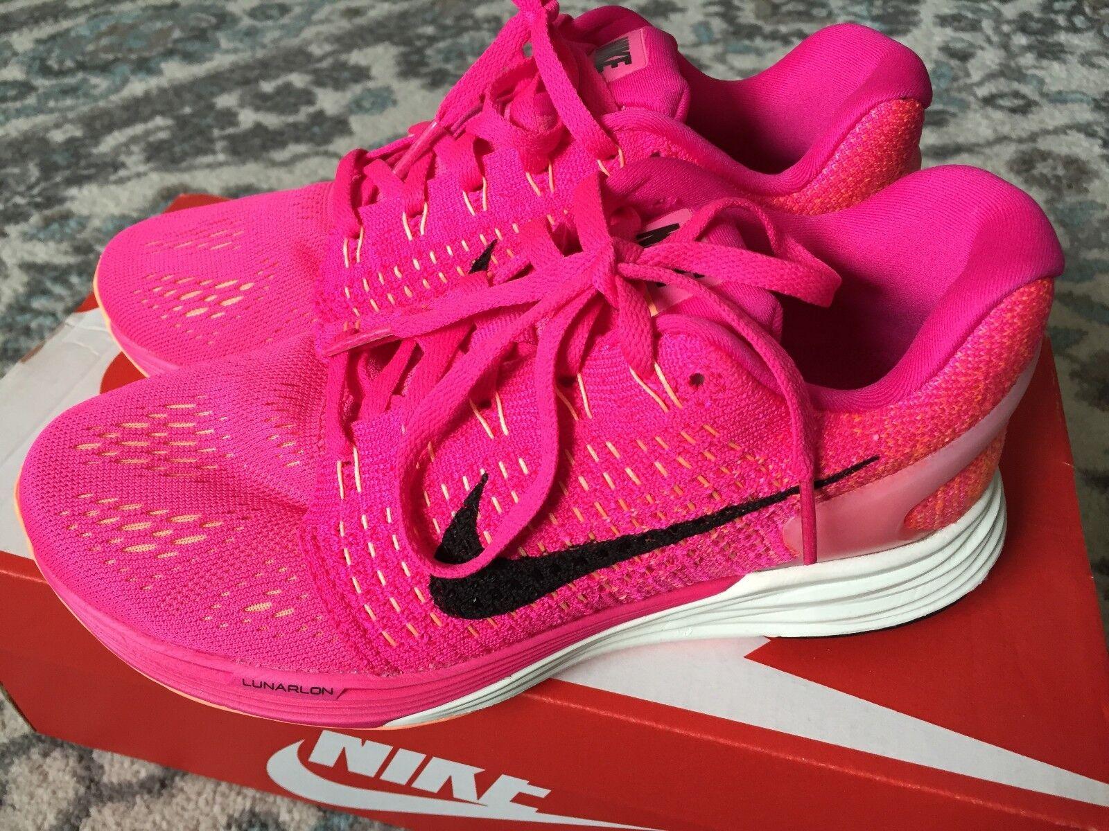 Nike Lunarglide 7 Women's 747356-600 Running Shoes Size 5
