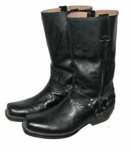 """ BUFFALO "" Westernstiefel / Stiefel / Biker- Boots in schwarz ca. Gr. 44 - 44,5"