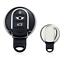 Chrom Schlüsselcover Schlüsselhülle Mini Cooper Hatch Clubman Cabrio Silber