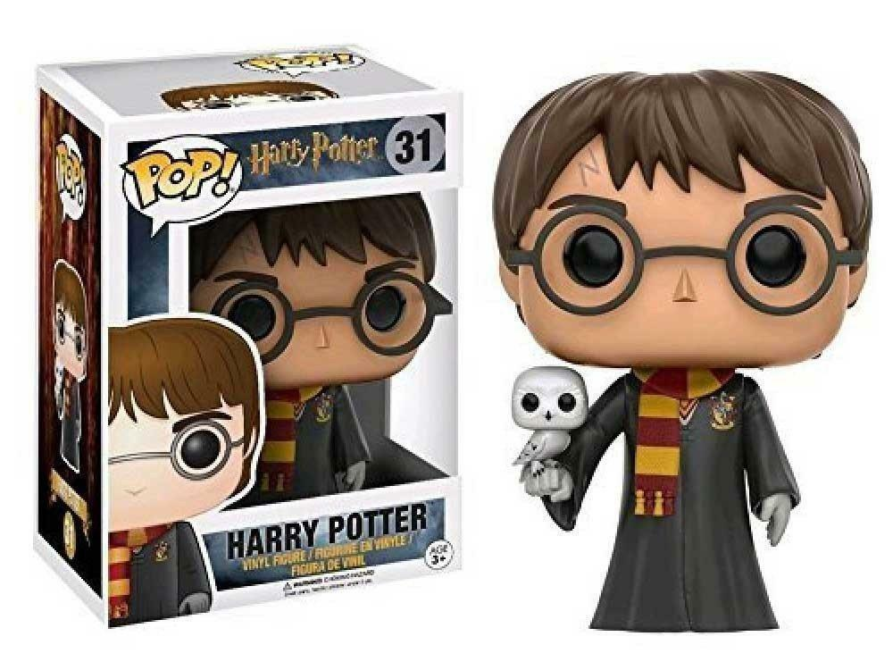 HARRY POTTER WITH HEDWIG CON EDVIGE 9 CM POP divertiessitoKO