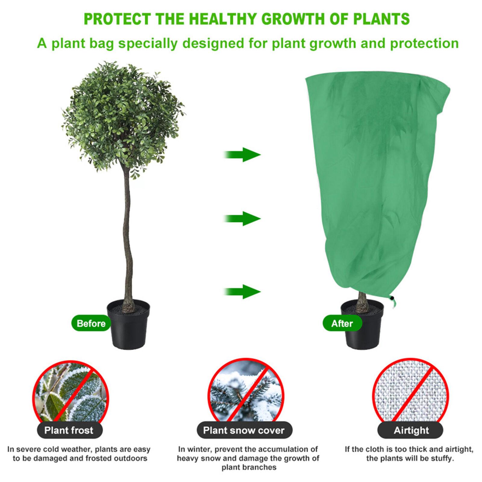 Tree Protecting Bag Easy Use Keep Warm Reusable High Quality for Garden