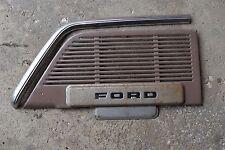 51 52 1951 ford  truck dash speaker grille radio blank dash trim