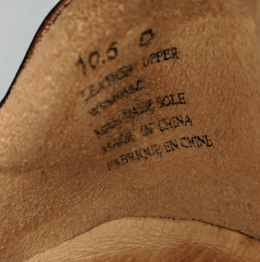 Aravon by New Balance 10.5D and Bronze Leather Hook and 10.5D Loop Ankle Strap Comfot schuhe def1a5