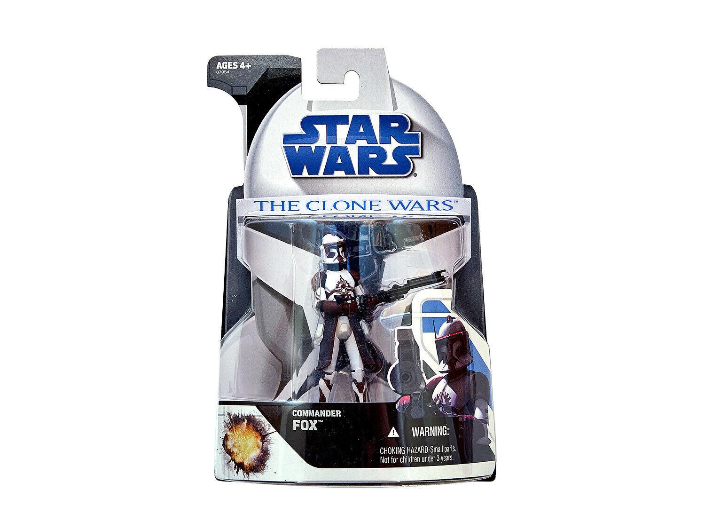 Star Wars   Exclusive     Commander Fox   The Clone Wars   2008   Hasbro d24c4e