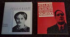2 Livres de Poche Seghers Guillaume Appollinaire / Alfred Jarry en Francais