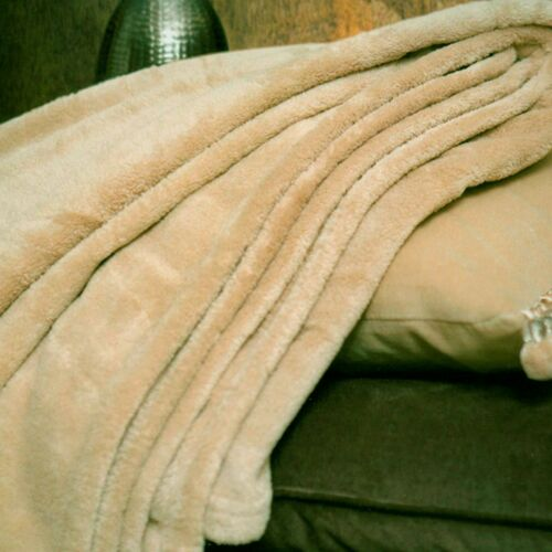 3 PCS Quilt Bedspread Blanket Sofa Cover Bed Throw Microfibre 150x200 cm