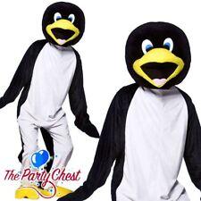 Adult Penguin Pal Costume Happy Feet Bird Fancy Dress Outfit STD /& Plus Size New