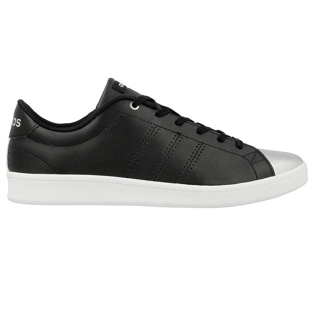 Adidas Damen Sneaker Advantage Qt W Schuhe Schwarz Damen Sneakers Freizeit