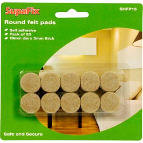 Erhältlich IN Verschiedenen Größen Ideal Für Möbel Böden Schutz Filzgleiter