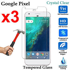 x3 Premium Tempered Glass 9H phone screen protector Google Pixel Front