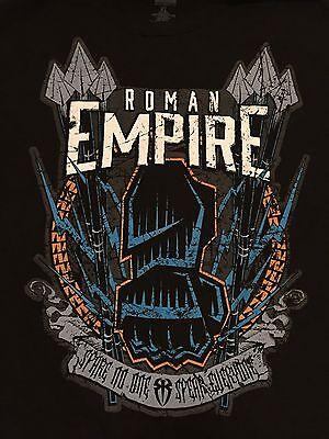 WWE Roman Empire T-Shirt XL Reigns Spare No One Spear ...