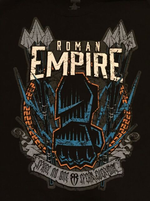 roman reigns empire spare no one spear everyone wwe authentic t
