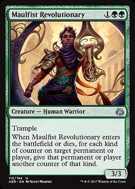 Aether Revolt Magic Maulfist Revolutionary 2x Hammerfaust Revolutionärin