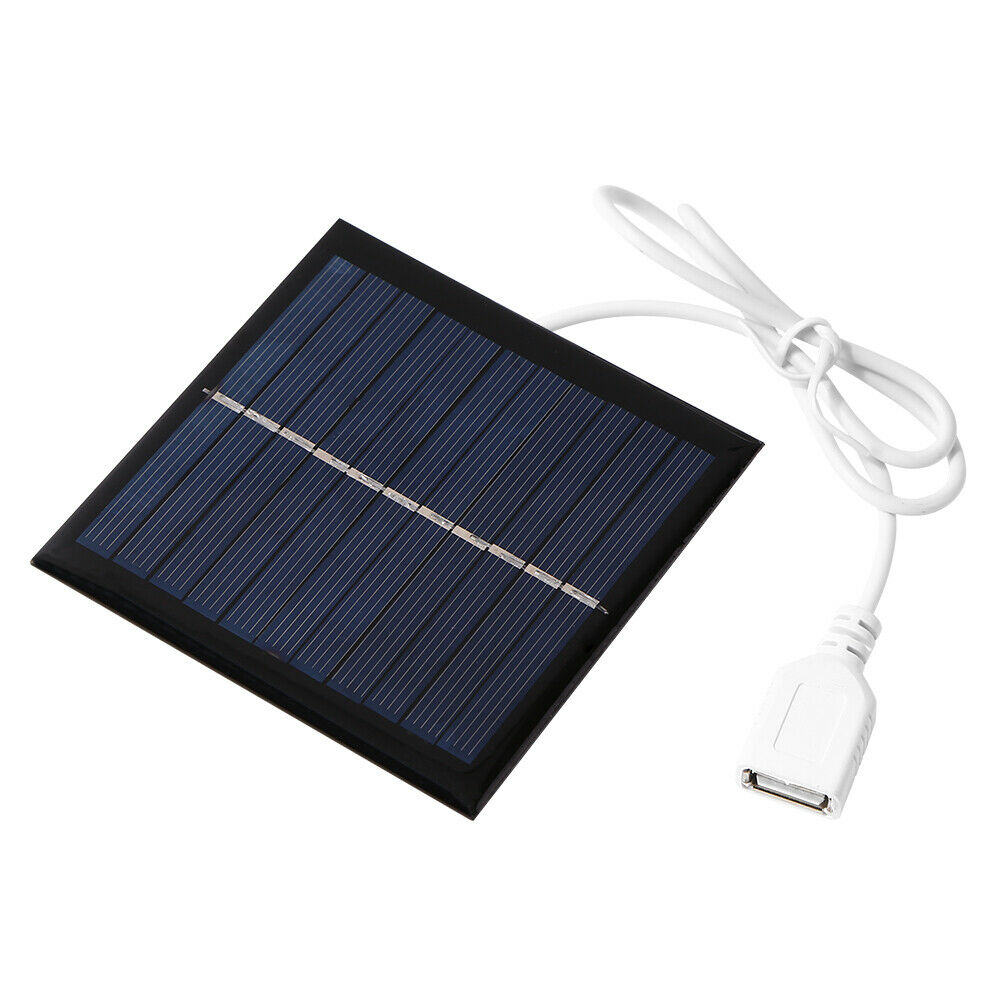 1W 5.5V USB Mini Solar Panel for DIY Phone Power Bank Fan Cell Chargers