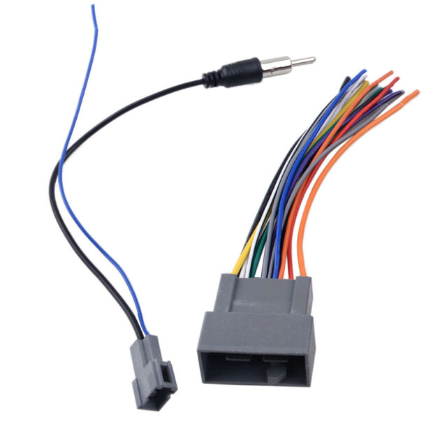 2 Radio Stereo Wire Harness Antenna Adapter Fit For Honda