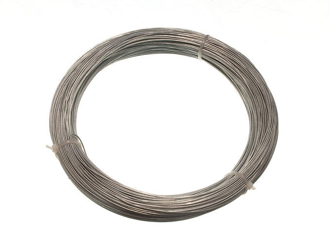 Envase con 10 500g peso galvaniza jardín valla de alambre 1 mm 80 metros
